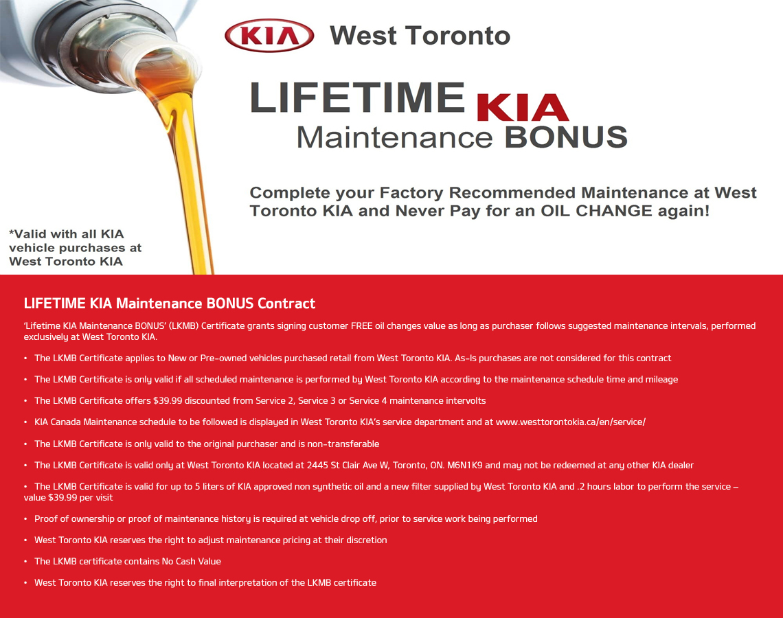 Lifetime Bonus