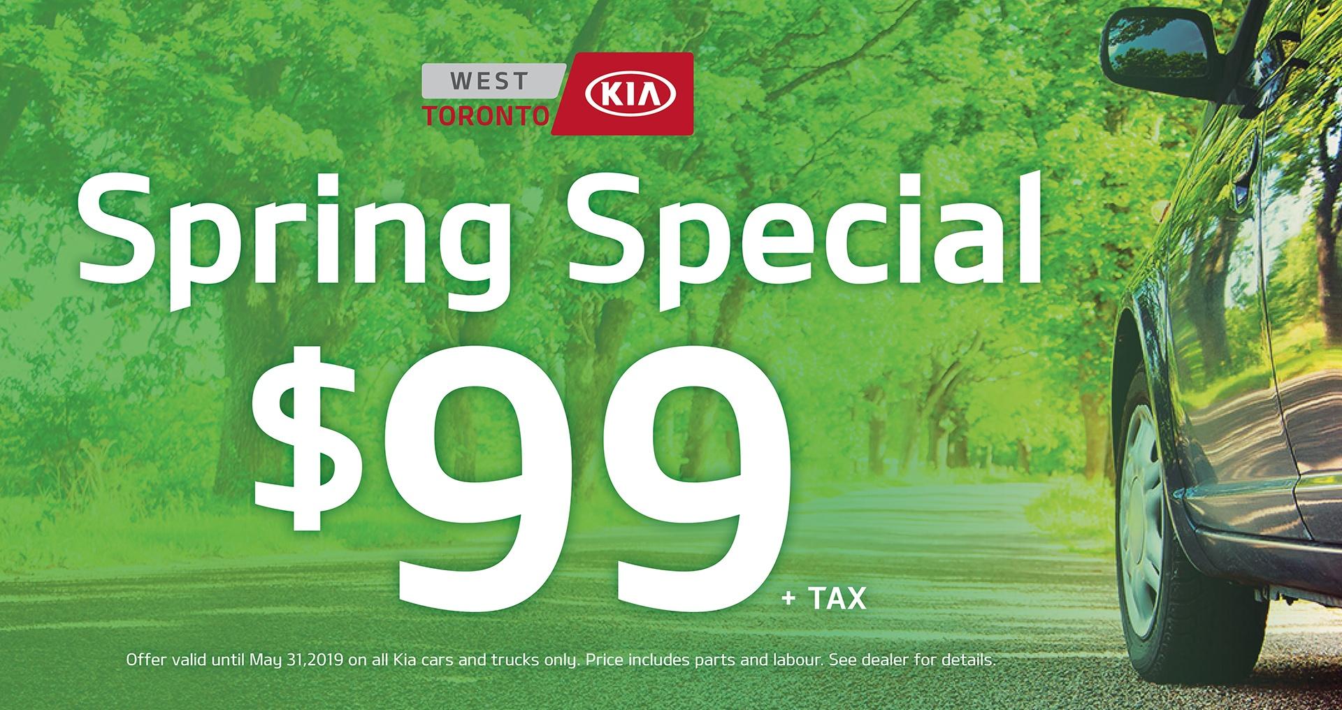 West Toronto Kia Spring Special